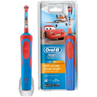 D12.513K Stages Тачки Детская зубная щетка Oral-B 1 насадка