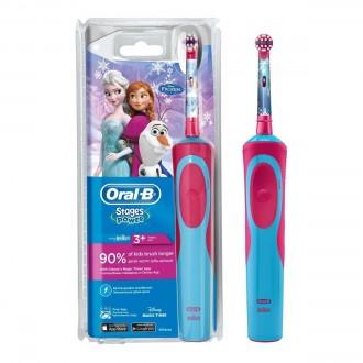 D12.513K Stages Frozen Детская зубная щетка Oral-B 2 насадки