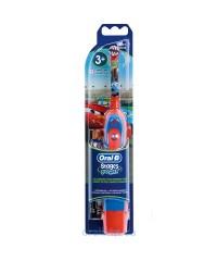 К Тачки Дитяча зубна щітка Oral-B на батарейці 3 насадки 2010494498b6e