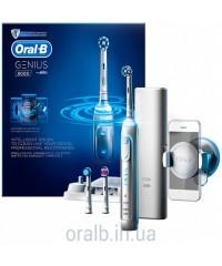 Genius 8000 pro White Зубная щетка Oral-B 3 насадки