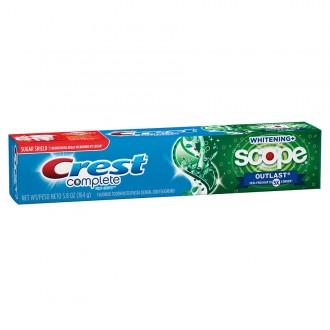 Зубная паста Crest Complete Whitening Scope Outlast 164 г.
