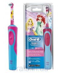 D12.513K Stages Принцесса Детская зубная щетка Oral-B 1 насадка