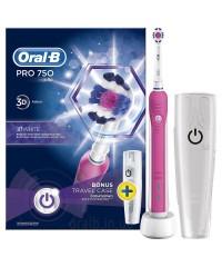 D16 pro 750 Black+D16 pro 750 Pink Зубные щетки Oral-B 2 насадки