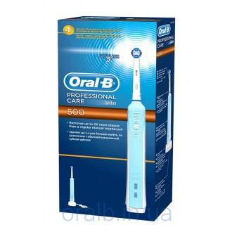 D16/500 Professional Care Зубная щетка Oral-B 5 насадок