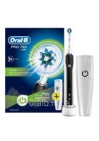 D16 pro 750 Black Зубная щетка Oral-B 5 насадок