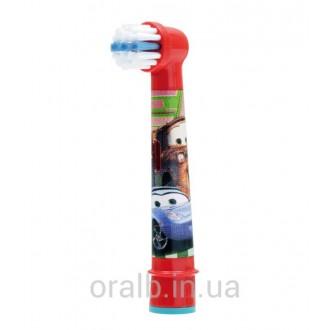 EB10 Тачки Детская насадка для зубных щеток Oral-B 1 шт.