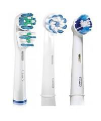 """3-Экшен+"" Набор насадок для зубных щеток Oral-B 3 шт."