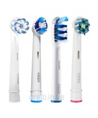 """4-Экшен"" Набор насадок для зубных щеток Oral-B 4 шт."
