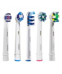 5-Екшен + Набір насадок для зубних щіток Oral-B 5 шт.