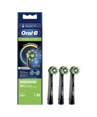 EB50 BK Cross Action Black Edition Clean Maximizer набор насадок для зубных щеток Oral-B 3 шт.