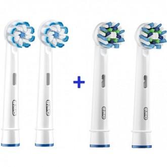 Sensi+Cross Набір насадок для зубних щіток Oral-B 4 шт.