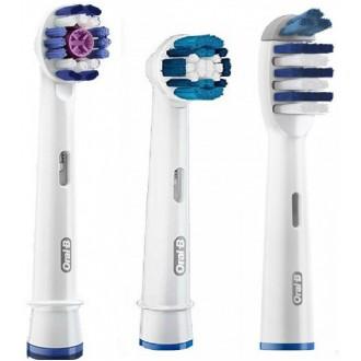 3-Экшен Набор насадок для зубных щеток Oral-B 3 шт.