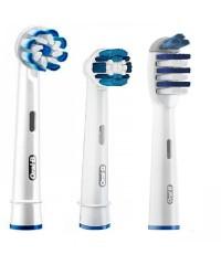 """3-Экшен"" Набор насадок для зубных щеток Oral-B 3 шт."