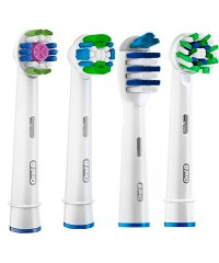 4-Pro-Экшен Набор насадок для зубных щеток Oral-B 4 шт.