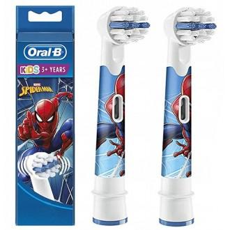 EB10 Spider-Man Детская насадка для зубных щеток Oral-B 2 шт.