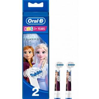 EB10 Frozen II Холодное Сердце Набор детских насадок для зубных щеток Oral-B 2 шт.