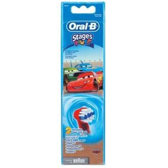 EB10 Тачки Детские насадки для зубных щеток Oral-B 4 шт.