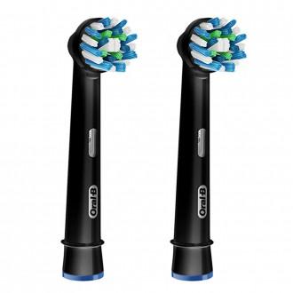 EB50 BK Cross Action Black Edition насадка для зубных щеток Oral-B 2 шт.