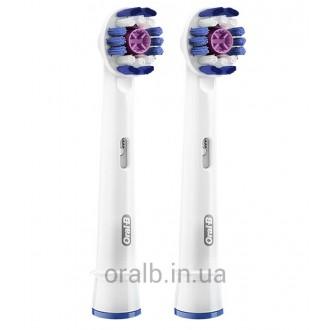 EB18 3D White Pro насадки для зубных щеток Oral-B 2 шт.