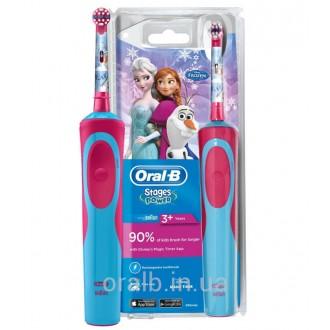 D12.513K Stages Frozen Детская зубная щетка Oral-B 1 насадка