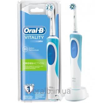 Vitality D12.513 Cross Action Зубная щетка Oral-B 1 насадка