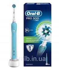 """Cross Action D16 / 500 + """"Контейнер"""" Зубна щітка Oral-B 1 насадка"""