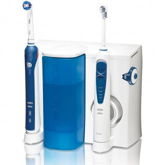 OC 20 OxyJet 2000 Зубной центр Oral-B Professional Care 7 насадок