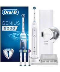 Genius 9000 pro White Зубная щетка Oral-B 4 насадки