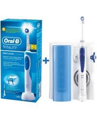 Зубна щітка D12.513 Vitality + Іригатор MD20 Oxy Jet Oral-B 7 насадок