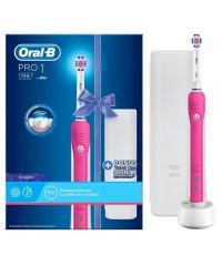D16 Pro 750 Pink 3D White Зубная щетка Oral-B 5 насадок