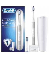 Pulsonic Slim 4200 Slim One Ультразвуковая щетка Oral-B 2 насадка