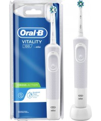 Vitality D100 Cross Action White Зубная щетка Oral-B 1 насадка