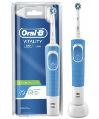 Vitality D100 Cross Action Blue Зубная щетка Oral-B 1 насадка