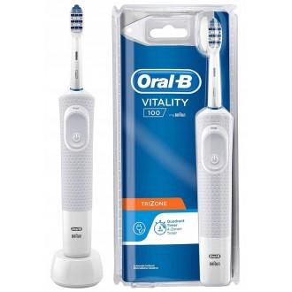 Vitality D100 Trizone White  Зубна щітка Oral-B 1 насадка