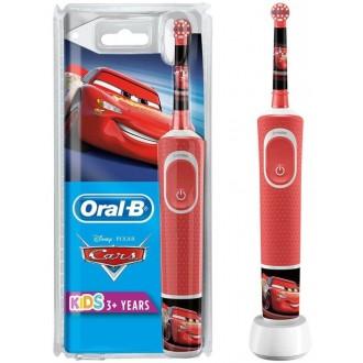"Vitality D100 Oral-B Stages Kids Тачки ""Cars"" Детская зубная щетка Oral-B 1 насадка"