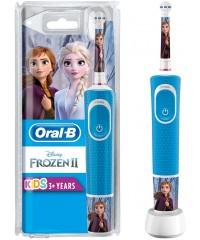 Vitality D100 Oral-B Stages Kids Frozen Детская зубная щетка Oral-B 1 насадка