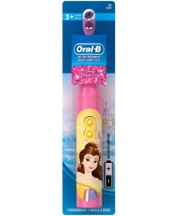 DB3.010 Princess Принцеса Дитяча електрична зубна щітка Oral-B на батарейці 1 насадка