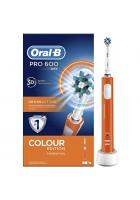 Cross Action Pro D16/600 Оранжевая Зубная щетка Oral-B 1 насадка