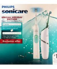 Philips Sonicare HX6214/50 Зубной центр (Ирригатор+Звуковая Щетка)