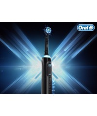 Genius X 20900 Black+Gold Зубная щетка Oral-B 2 насадки
