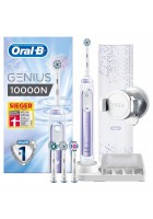 Genius 10000 N Orchid Purple зубная щетка Oral-B 4 насадки