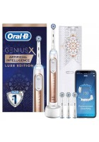 Genius X 20000 Gold Luxe Edition Зубная щетка Oral-B 4 насадки
