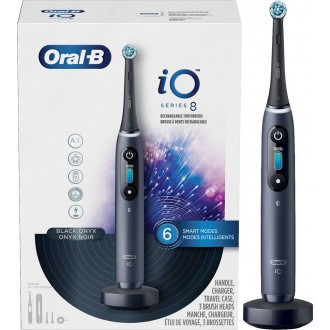 iO Series 8 Black Onyx Зубная щетка Oral-B