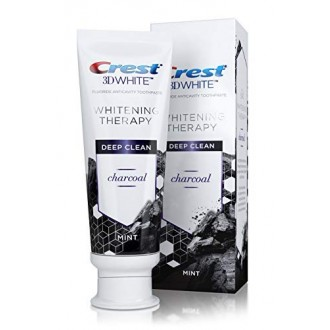 Зубная паста Crest 3D White Whitening Therapy Charcoal 116 г.