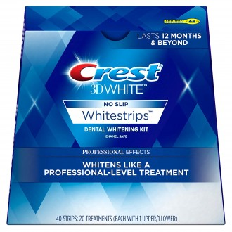 Отбеливающие полоски Crest 3D White Whitestrips Professional Effects 40 шт.