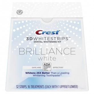 Отбеливающие полоски Crest 3D Whitestrips Brilliance White 32 шт.