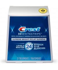 Відбілюючі полоски Crest 3D Whitestrips Supreme Bright 24 Level 42 шт.