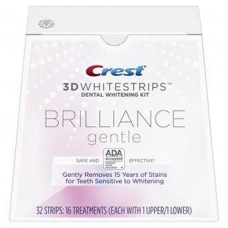 Отбеливающие полоски Crest 3D Whitestrips Brilliance Gentle 32 шт.