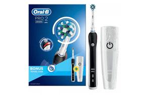 Обзор электрической зубной щётки Oral-B Pro 2 2500