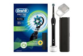 Обзор электрощеток Oral-B PRO 750 Black для мужчин или Pro 750 Pink для девушек